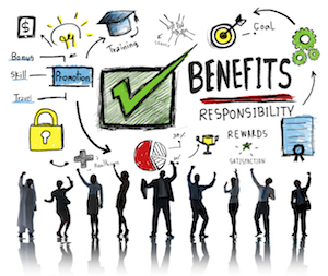 Benefits Gain Profit Earning Income Business Success Concept